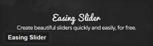 Easing Slider Plugin For WordPress