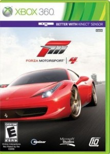 Forza Motorsport 4 Xbox 360 racing games
