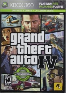 Grand Theft Auto IV Xbox 360 Racing Game