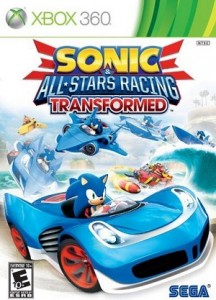 Sonica and all Stars Xbox 360 Racing Game