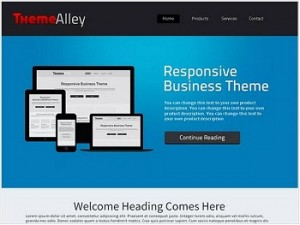 Alexandria Ecommerce WordPress theme