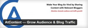 AtContent best WordPress plugins for blogs