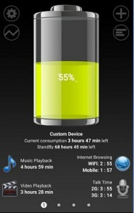 Battery HD Android app
