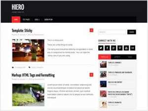 Hiero magazine WordPress theme