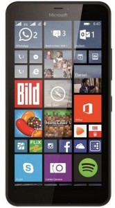 Microsoft Lumia 640 smartphone