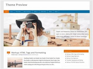 Profound magazine WordPress theme