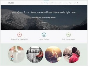 Quest magazine WordPress theme