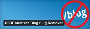R3DF multisite blog plugin for WordPress