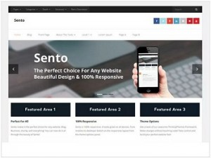 Sento Ecomerce WordPress theme