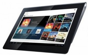 Sony Android tablet