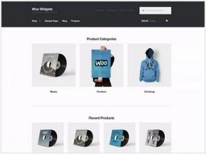Storefront Ecommerce WordPress theme