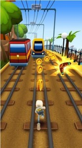 Subway Surfer Android game for tablet