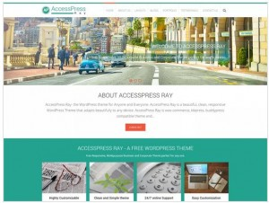 AccessPress Ray WordPress themes for Photography
