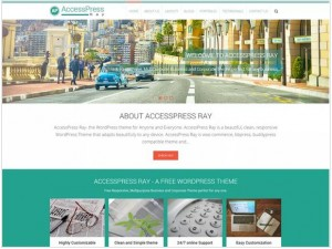 AccessPress Ray theme for WordPress