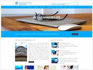 Accesspress Lite theme for WordPress