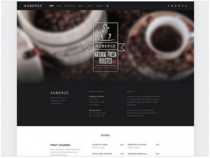 Auberge theme for WordPress