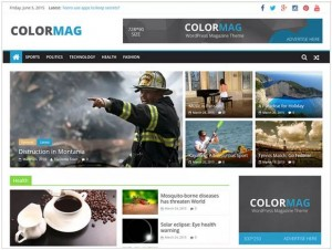 ColorMag responsive news themes for WordPress