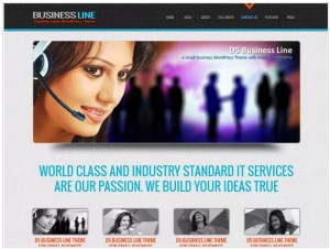 D5 Business lite WordPress themes for Business