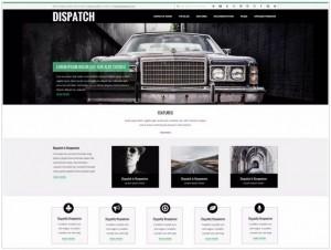 Dispatch WordPress themes for portfolio