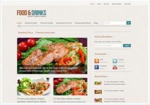 Foodmag WordPress Restaurant themes