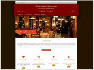 Formidable Restaurant theme for WordPress