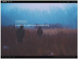 Harmonic theme for WordPress