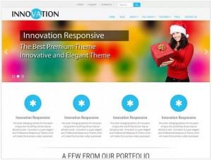 Innovation lite theme for WordPress
