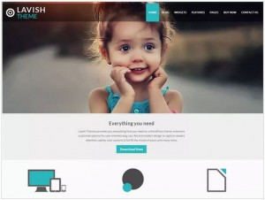 Lavish WordPress theme for Business