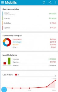Mobills Finance apps for android