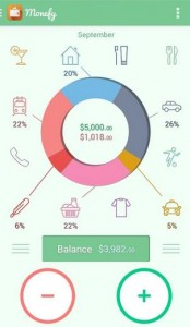 Monefy Finance apps for android