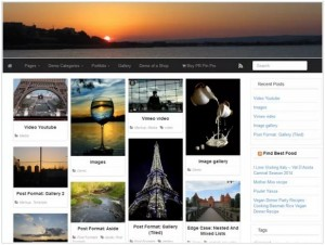 PR Pin WordPress theme for news