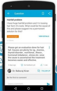 Practo health app for android