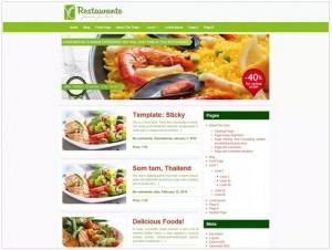 Restaurante theme for WordPress