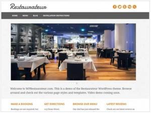 Restaurateur theme for WordPress