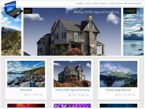 SG Window theme for portfolio