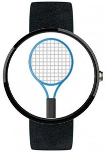 Tennis Racketeering android wear game