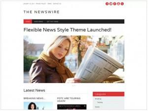 The Newswire theme for WordPress