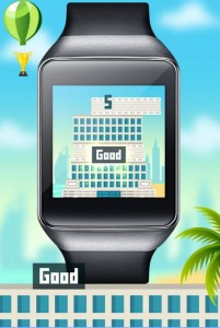 Wear Burj builder android wear game