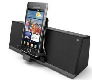 iLuv MobiAir Bluetooth speaker dock for android