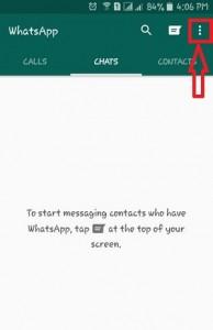 Launch WhatsApp app