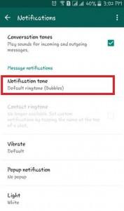 Tap On Notification tone