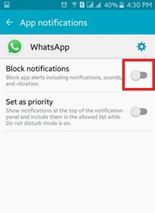 block app notifications on android lollipop