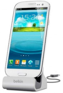 Belkin USB charge & dock for samsung galaxy S4