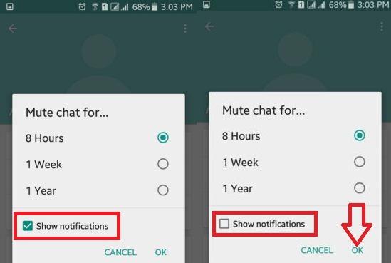 Ilustrasi : Membisukan notifikasi grup (bestusefultips.com)