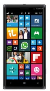 Nokia Lumia 830 phone