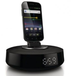 Philips android docking station with speakers