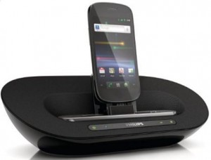 Philips android speaker dock for tablets