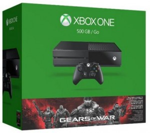 Xbox one 500 GB Console bundle Gears of War