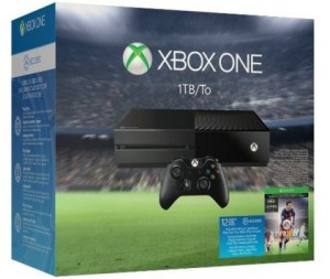 Christams deals on Xbox one 1 TB console EA sports FIFA 2016