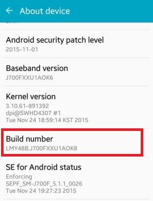 Best setting for developer option android